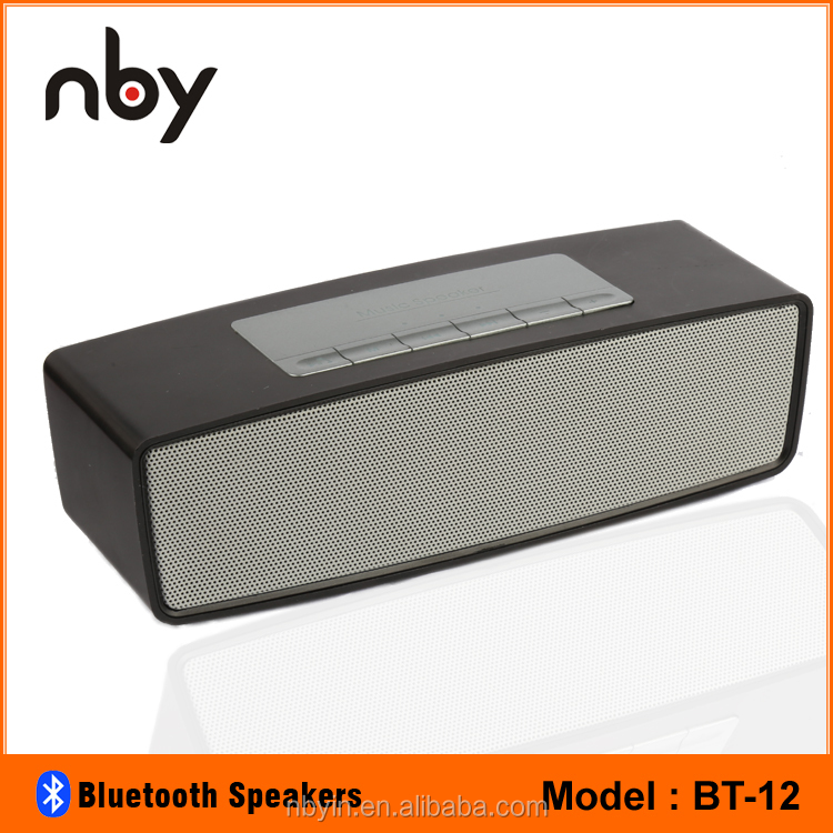 NBY Cube Shape Portable Bluetooth Speaker for Computer