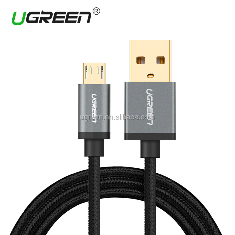 UGREEN Micro USB Cable Nylon Braided Fast Quick Charger Cable USB to Micro USB 2.0 Android Charging Cord for Samsung Galaxy S7/S