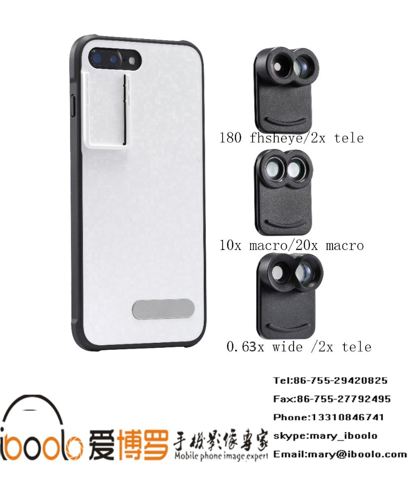 High quality smartphone accessories 2017, 10x macro +20x macro lens kit for iphone7 plus