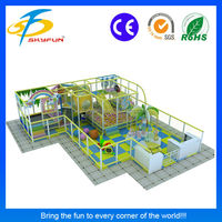 High quality indoor playground equipment for restaurants with low price