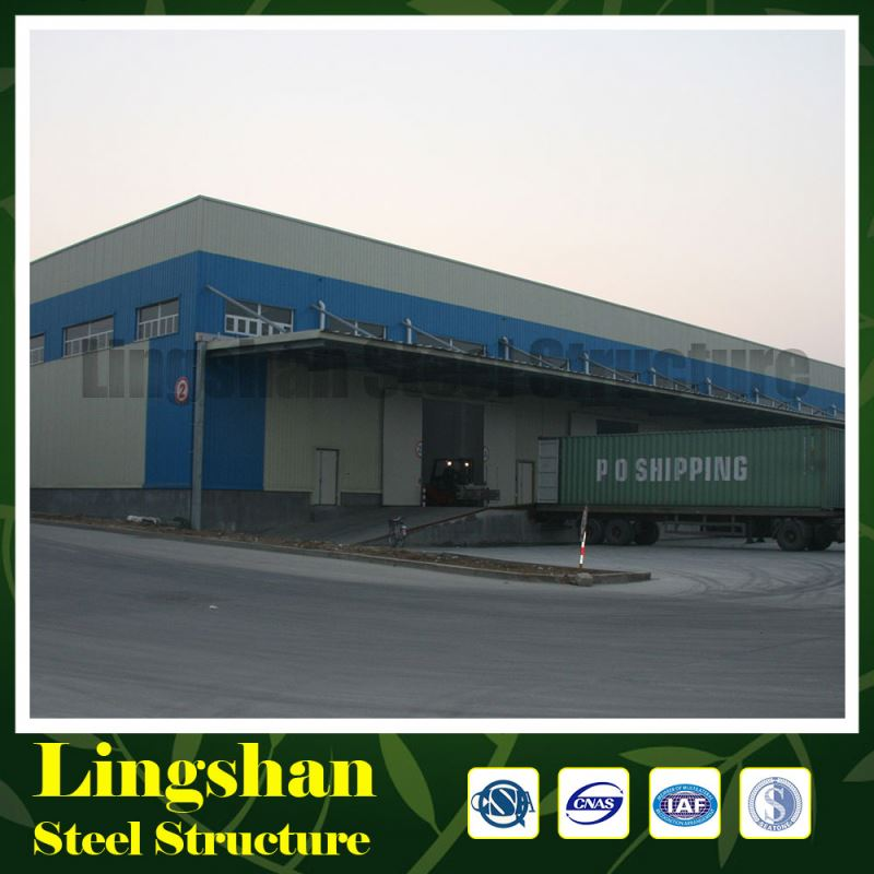 low cost metal prefabricated steel structure warehouse building