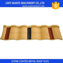 Factory Supply High Quality Red Color Metal Roof Tile With Good After-sale Service