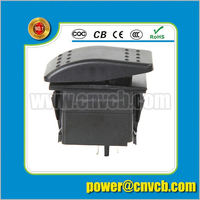 Top Sales Low Defective Rate Replacement Wholesale Price Marine Using Led Light Bar Rocker Switch 6 gang dimmer switch