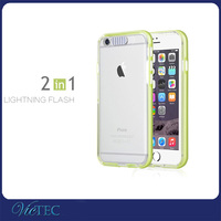 Remind Incoming Call LED Flash Lighting Phone Case For Apple i Phone 6/6s plus