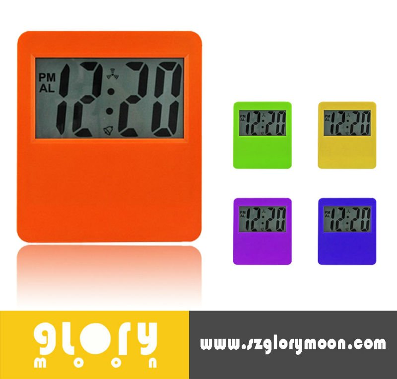 JUMBO LCD DISPLAY DIGITAL PROMOTIONAL DESIGNER WALL CLOCK
