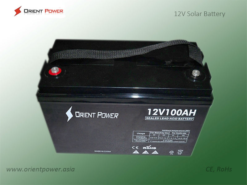 Long Life Various Capacity Deep Cycle Battery 12v 7ah for Solar System