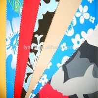 Good Quality Polyester Printing Microfiber Peach Skin Fabric For Board Shorts