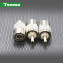 High Quality Double metal swivel ancho electrical connectors for Feeder line