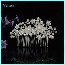 2016 Latest Designer Wedding Crystal Hair Comb/Bridal Bulk Hair Comb Accessories