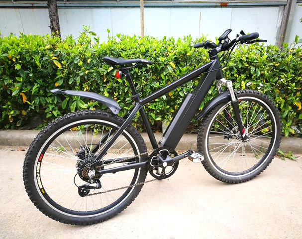 2018 cheap electric rear brushless motor bicycle mountain e-bike for adult