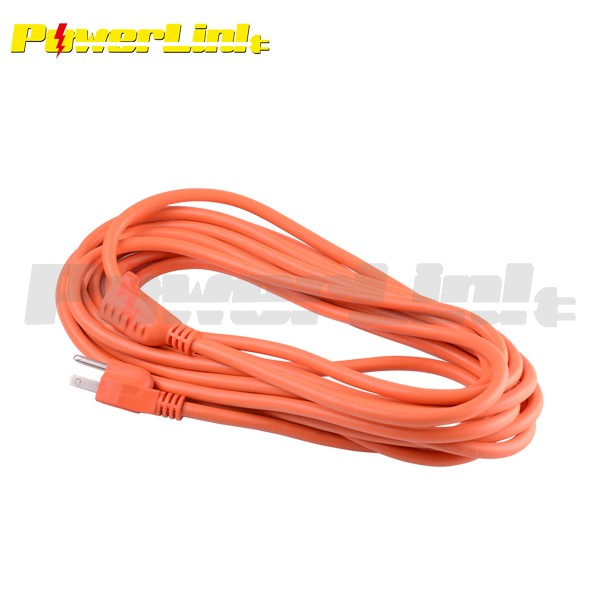 S90106 Outdoor Extension Cord, 3-Prong Grounded, Orange, 100-Feet