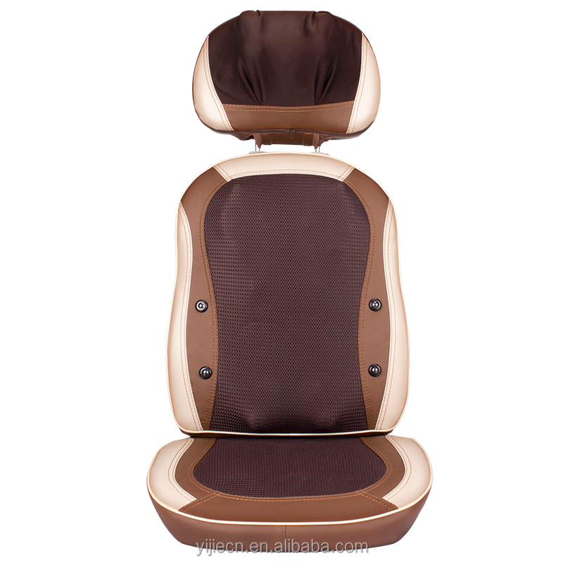 neck and back kneading massage cushion for Neck Back Buttock part TAIJI massage shiatsu massage cushion