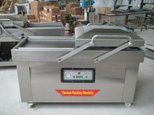 Double Chamber Vacuum packaging machine DZ-600/2SB for peanut, pork,beef,sea food,tuna fish