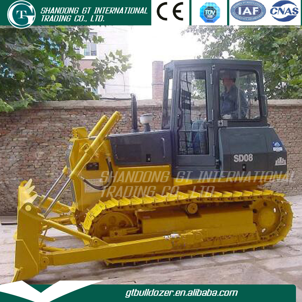 Low price Shantui small dozer SD08 80HP earth movers