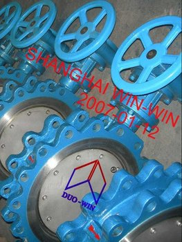 Tapped Lug type Butterfly Valve