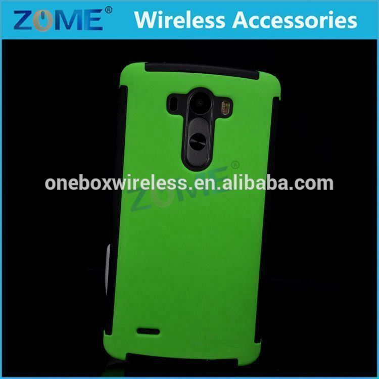 Mobile Accessories Wrap-Up Hybrid Mobile Phone Case For Lg G3