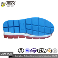 Men sole moulding machine and Many color Automatic rubber injection men casual sports shoe soles with size 38-44