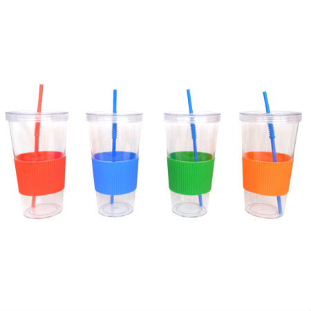 wholesale acrylic tumblers with straws