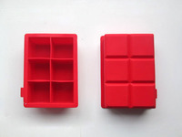 Silicone Ice Cube Trays Small Square Shaped Cubes tray