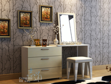 Modern Wooden Dressing Table With Cupboard Wood Furniture Design Dresser Table Home Furniture