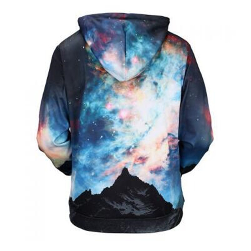 Hot Sale Factory Custom Designs 3D Dye Sublimated Printing Hoodies