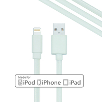 MFI Certified 8 pin to USB Date Sync Charging Charger Flat Cable for iPhone 5