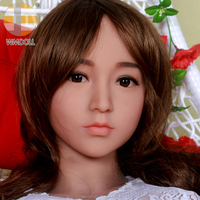 Realistic adult dolls' head , WMDOLL' head,Oral life sized solid adult dolls' head