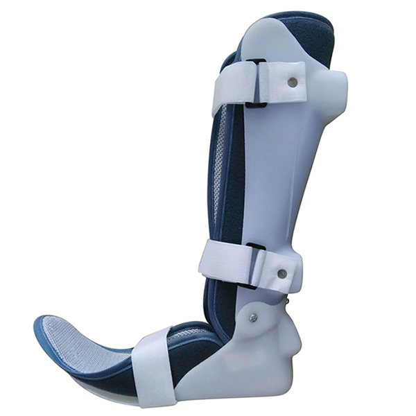 FLX-001D New orthosis brace foot supporter AFO Ankle Orthosis drop foot Brace left