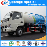 DONGFENG 4X2 sewage suction truck vacuum suction truck sewage sucker truck for sale