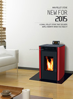 8KW Small Wood Buring Fireplace/Stove with Electric Controller