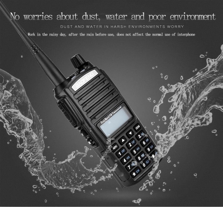 High power baofeng uv82 Dual Band Two Way Radio VHF UHF 10 watts Walkie Talkie