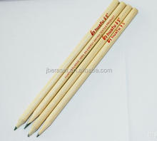 nature wood logo customized hb pencil for promotional gift