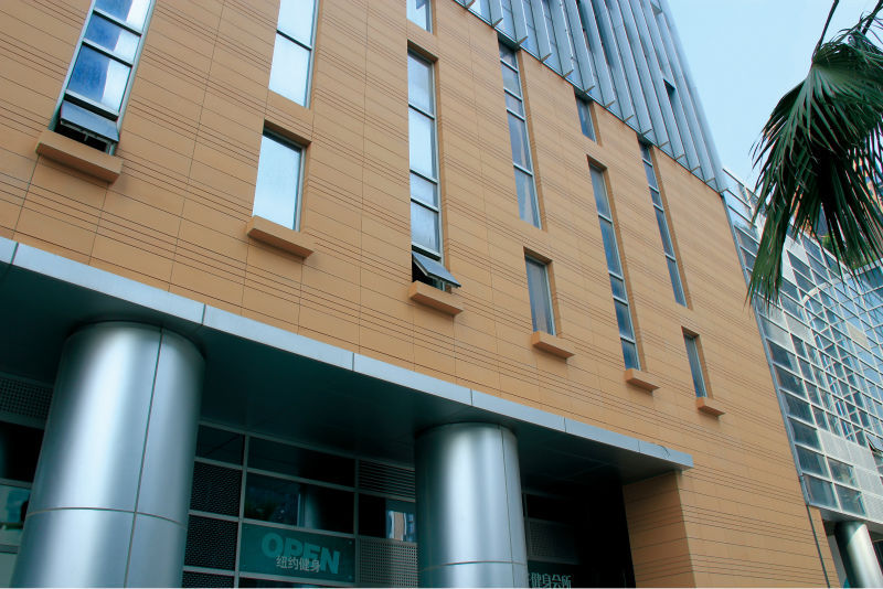 Facade Glazing Wall Terracotta Siding Panel Curtain Wall