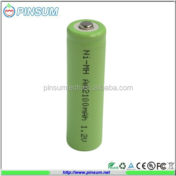 Hot selling rechargeable batteries Ni-MH AA 2100mAh 1.2V battery pack industrial batteries