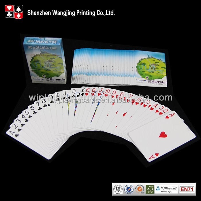 300 gsm Art Paper Playing Cards,Promotion Playing Cards