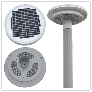 High quality outdoor led bollard solar garden light solar PIR Motion Sensor Security Flood Light