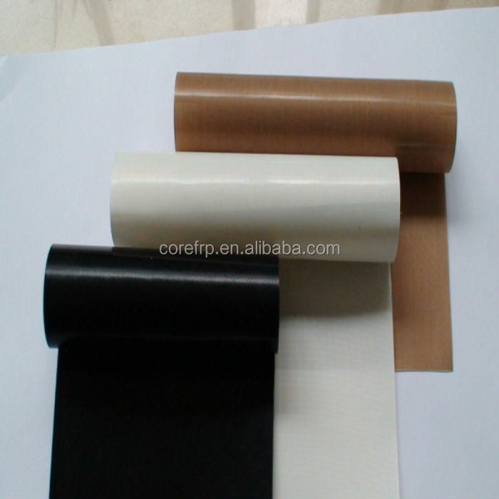 Heat resistant electrical insulation PTFE fabric