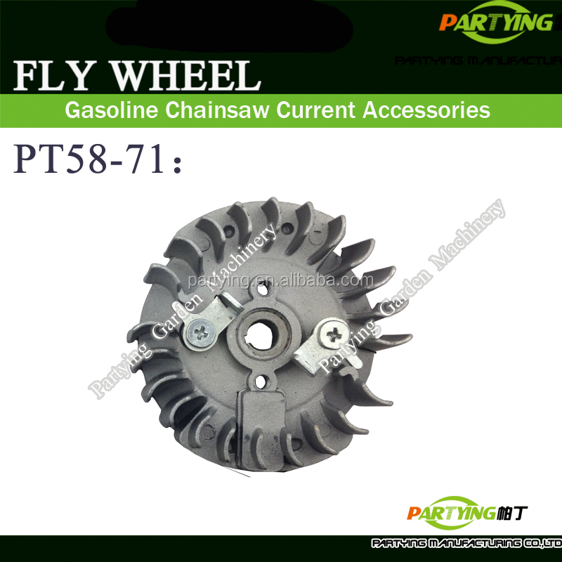 PARTYING PT58-58 CHAINSAW FLY WHEEL chainsaw 45cc 52cc 58cc 4500 5200 5800 gasoline chain saw chain chinese chainsaw