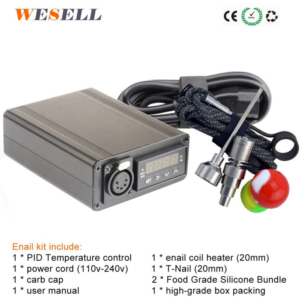 2016 hottest Electronic cigarette dab heater temperature controller enail/d nail/e-nail with heating coil