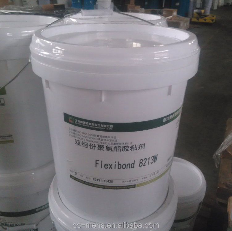 Aluminum sandwich panel two part polyurethane/pu adhesive glue structural bonding