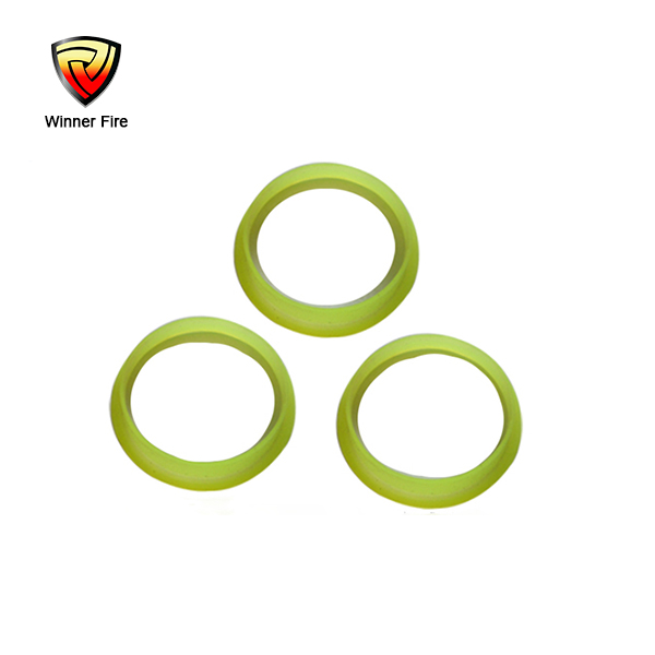 Fire extinguisher spare parts fluorescent ring for fire extinguisher cylinder