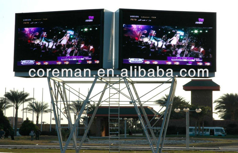 hot product in china cheap price high bright video wall roadside led display board / walking billboard led display advertising