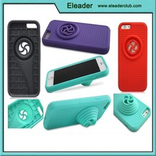 2015 for iphone 6 stand speaker cover case in silicone