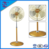 Volume manufacture fashionable design power industrial metal pedestal fan
