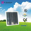 Attractive design 30w new semi-flexible p solar panel