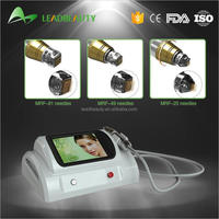 Professional wrinkle remover micro needle fractional rf machine