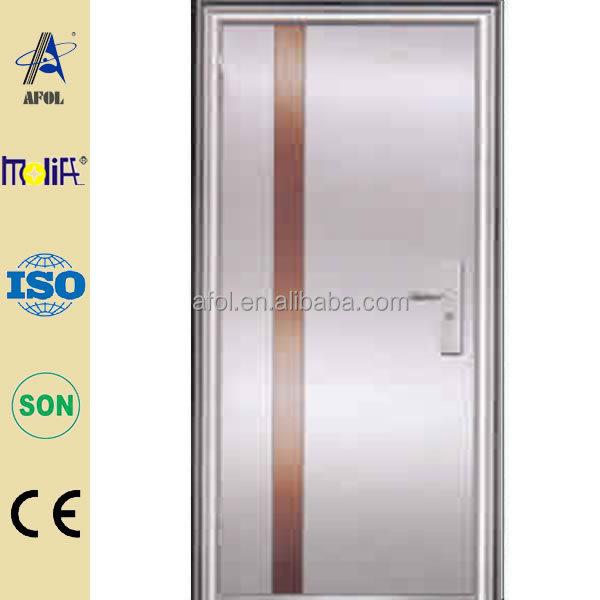 Cina manufacturers modern stainless steel bathroom door