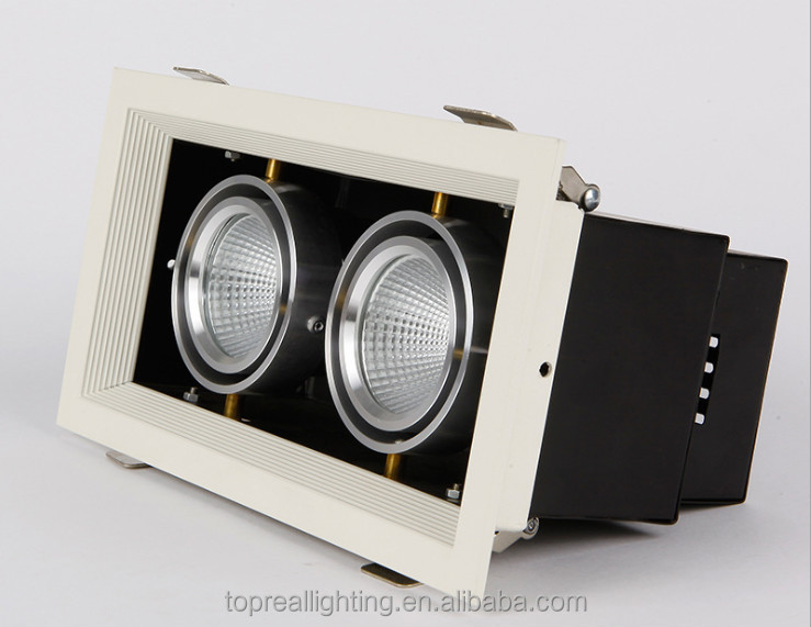 Recessed Downlight Led Grille Lighting 25w 35w For Office 5w Led ...