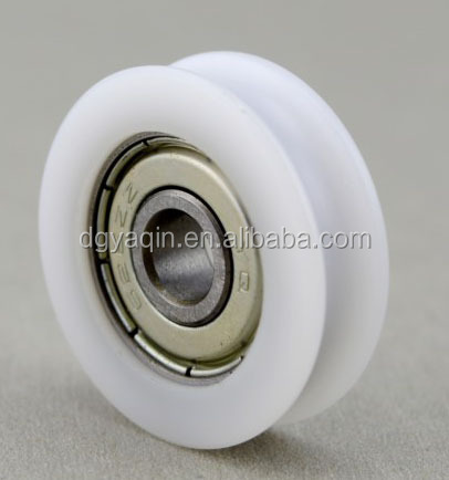 Factory Sale Injection Plastic Modling Type Sliding Pulley Roller For Window