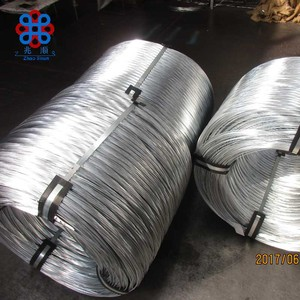 galvanized chain link fence top barbed wire / hot dipped galvanized deep fry wire baskets / electro gi wire photo holder